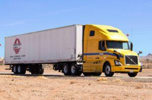 grand camion, expédition, moteur diesel, véhicule, transport, cargaison
