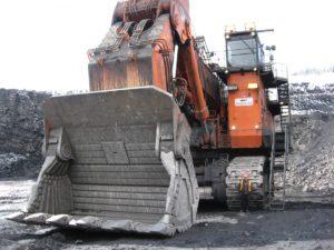 asphalte véhicule industriel bulldozer énorme Excavatrice démolition pelle exploitation minière Hitachi 8000 équipement de construction Véhicule terrestre